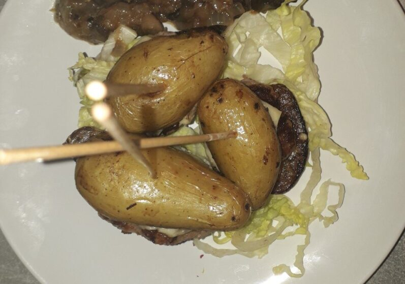 Lunch Mini aardappelburger